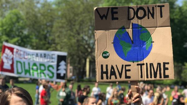 Fridays for Future Demo in Utrecht. | Rechte: KiKA/ Filip Felix